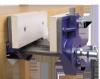 Etabli en hêtre massif équipé d'une presse rapide, plateau de 2,10 m